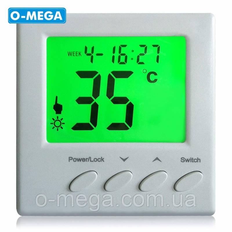 Терморегулятор программируемый Floureon BYC01 для теплого пола с датчиком температуры