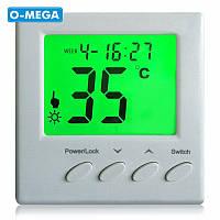 Терморегулятор программируемый Floureon BYC01 для теплого пола с датчиком температуры, фото 1