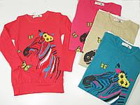 Туника для девочек, размеры на возраст 4, 6, 10,12  лет, King, арт. FCC-1081, фото 1