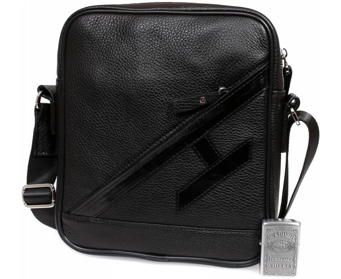 Мужская кожанная сумка Alvi AV-4-5225