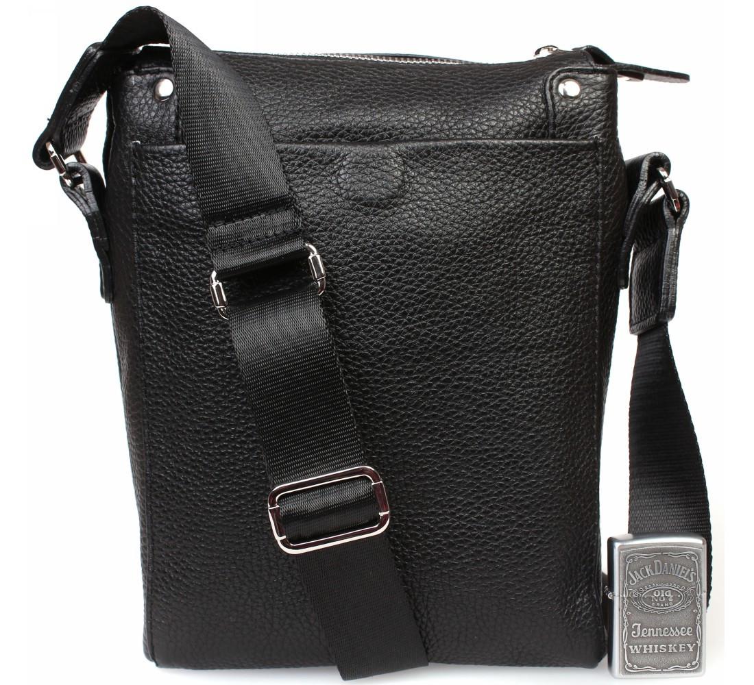 Мужская кожанная сумка Alvi AV-879