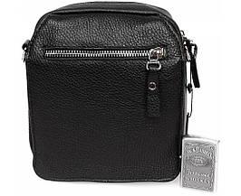 Небольшая мужская кожаная сумка для документов Alvi AV-8-0668