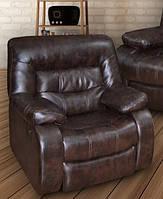 """Кресло """"Лотто, механизм реклайнер (кожа+кожзам)"""", фото 1"""