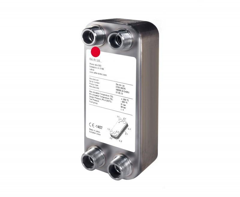 Ecoair теплообменники Кожухотрубный конденсатор WTK CF 400 Химки