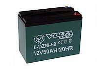 Тяговые свинцово-кислотные аккумуляторы AGM 12 V 50AH  Volta