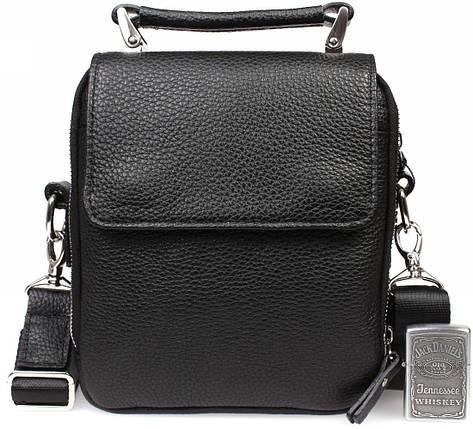 Мужская кожанная сумка Alvi AV-50-7305, фото 2