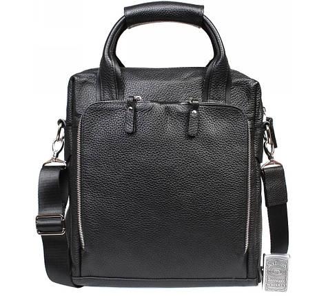 Мужская сумка для документов формата А4 кожанная Alvi AV-20-6006, фото 2