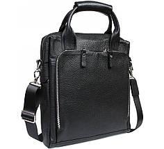 Мужская сумка для документов формата А4 кожанная Alvi AV-20-6006, фото 3
