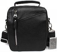 Мужская кожанная сумка борсетка для водителя Alvi AV-5-4105