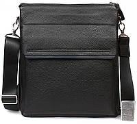 Мужская сумка для документов формата А4 кожанная Alvi AV-2-3917А