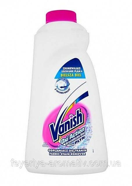 Пятновыводитель для белого Vanish Oxi Action Crystal white 1л.