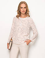 Женская блуза свободного кроя нежно-розового цвета. Модель Z68 Sunwear, осень-зима 2017.