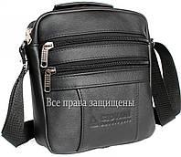 Мужская кожанная сумка борсетка Alvi KL005