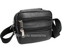 Мужская кожанная сумка борсетка Alvi KL001