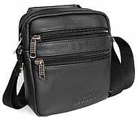 Мужская кожанная сумка борсетка Alvi KL003