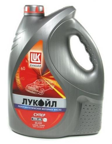 Моторное масло LUKOIL 10W-40 SUPER 5L ( Лукойл Супер 10W40 ) полусинтетика