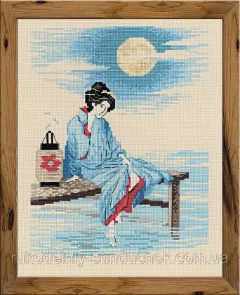 Набор для вышивания крестом «Светлая луна» (1509)