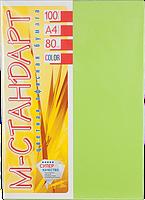 Бумага A4 'М-Стандарт' ИНТЕНСИВ LG46 (Lime Green) 100 л./80 гр.