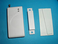 Беспроводной датчик открытия двери, окна для GSM сигнализации, 433мГц