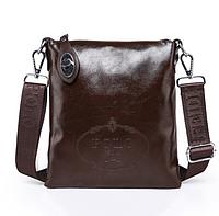 """Шикарная сумка (Прадо) """"Kont"""" коричневого цвета."""