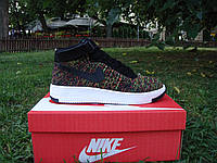 Мужские кроссовки Nike Air Force 1 Mid Ultra Flyknit Dark Multy-Color