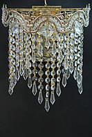 Хрустальное Бра SVLIGHT двухламповое 18078/2 золото