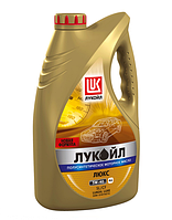 Моторное масло LUKOIL 5W-40 LUXE 4L ( Лукойл Лукс 5W40 ) полусинтетика