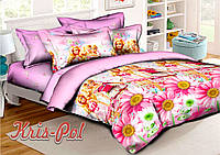 Детское постельное белье ранфорс для девочки