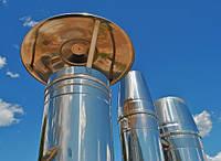 Дымоходные системы, трубы из нержавейки, оцинковки, полимера