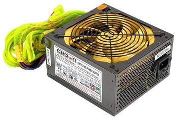Блок питания, 500W, PowerCrown CM-PS500, ATX