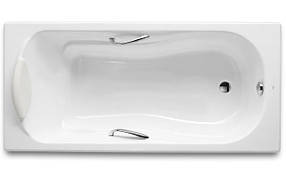 Чугунная ванна ROCA HAITI 2000 170*80 с ручками (23277000R)