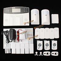 YA-500-GSM-21 автодозвон смс сигнализации дома домашнего офиса безопасности охранной нарушитель GSM ЖК беспроводной