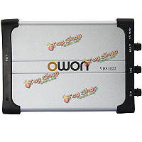Цифровая глубина 25МГц 100мс ПК USB осциллограф млн мит изоляции памяти / с 2 + 1 канал 2 х 5k VDS1022 OWON