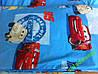Постельный комплект детский бязь 110х145 ассортимент Тачки