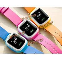 Q60 наручные часы Сос называть Искатель положения локатор трекер борьбе потерянный монитор GPS цвет