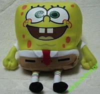 Подушка игрушка детская массажная Губка Боб