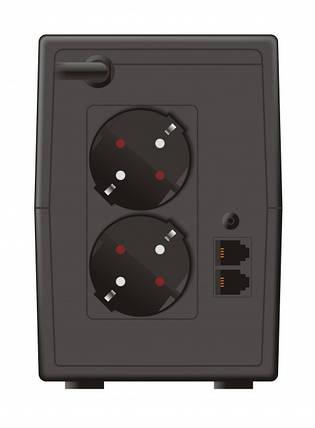 ИБП Mustek PowerMust 848 850VA LCD, Li ne Int., Schuko (98-LIC-L0848), фото 2