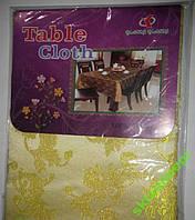 Скатерть Tablecloth 120х152см люрекс однотонный, фото 1