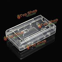 Mega 2560 R3 прозрачный глянцевый корпус кейс защитная коробка для Arduino