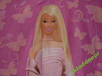 Простынь детская флис Барби 130х150, фото 1