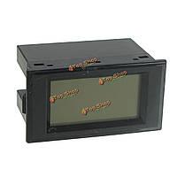 D69-2080 LED Двойной дисплей Вольтметр переменного тока цифровой измеритель напряжения