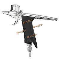 Двойного действия 0.3mm 7cc и 11cc аэрографа пистолет-распылитель воздуха щетка для татуировки краски модель