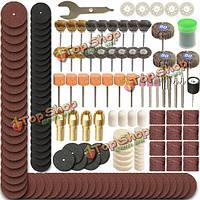 365шт поворотные аксессуары набор инструментов шлифовальные шлифовальный инструмент для полировки