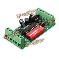 Декодер 15a rgb контроллер LED драйвер платы DMX512 Мини 3 канала
