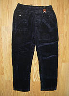 Вельветовые брюки для мальчиков на флисе, Egret, 98 рр