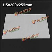1.5x200x255мм титановую пластину титана Ti листовое gr.5 металла
