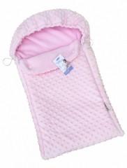 Детский конверт Twins утепленный, цвет розовый
