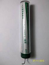 Припой в колбе с канифолью 17  грамм, d 1 мм