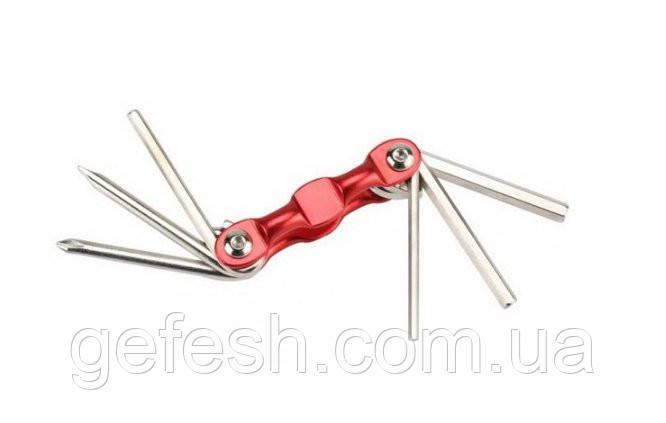 Ключи для велосипеда велосипедный ключ 6 в 1 шестигранник мультитул