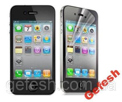 Захисна плівка Apple iPhone 4 4G 4S перед і зад